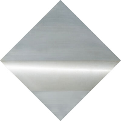 Getulio Alviani, 'Una linea luce orizzontale'