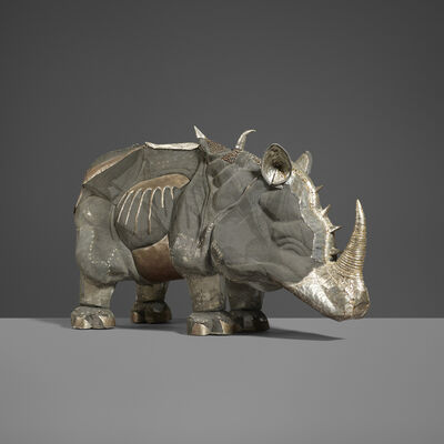 Unknown Spanish, 'Rhinoceros', c. 1975