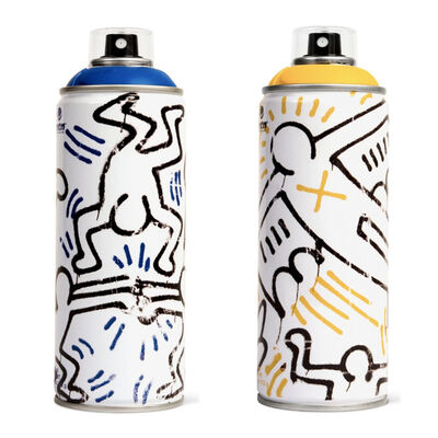 Keith Haring, 'Limited edition Keith Haring spray paint can set ', 2018