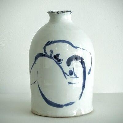 Ken Ferguson, 'Bottle form with nude 5', 2001