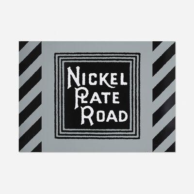 Robert Cottingham, 'Nickel Plate Road', 1987