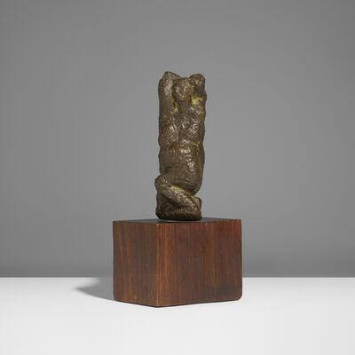 Leonard Schwartz, 'Kneeling Woman', 1957