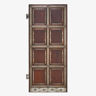 Oscar Bach, 'Door, New York', ca. 1927