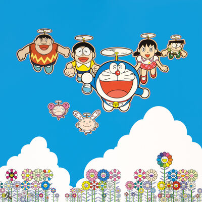 Takashi Murakami, 'Doraemon: Wouldn't It Be Nice If We Could Do This and That', 2020
