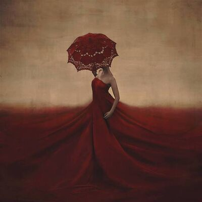 Brooke Shaden, 'The Creation of Blood and Bones', 2014