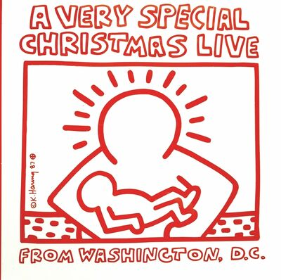 Keith Haring, ''A Very Merry Christmas Live From Washington D.C.' Poster', Unknown
