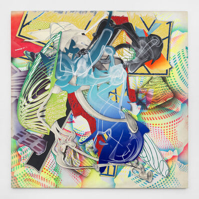Frank Stella, 'Cantahar', 1998
