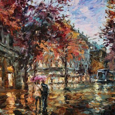 Lyudmila Agrich, 'Rainy Walk', 2019