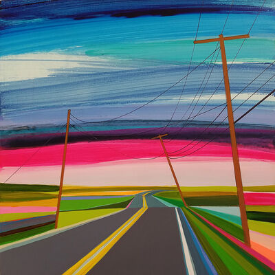 Grant Haffner, 'Backroads, Cranberry Hole Road', 2016