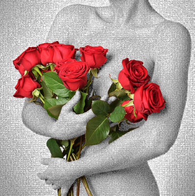 Joel Moens de Hase, 'Pas de roses sans épines', 2018
