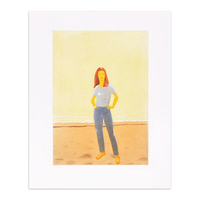 Alex Katz, 'Harbor 10', 2006