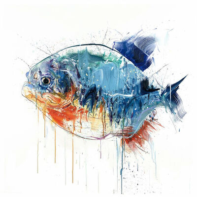 Dave White, 'Piranha - Large', 2018