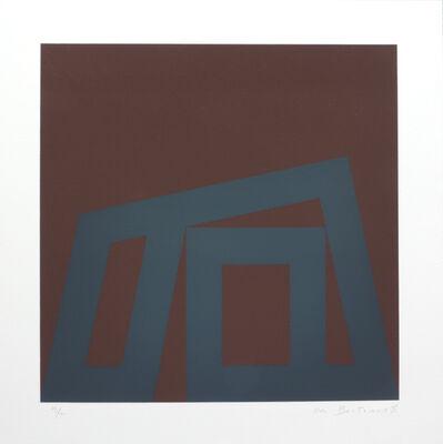 Ode Bertrand, 'Fond Brun et Gris', 1995
