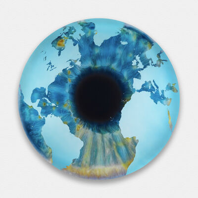 Marc Quinn, 'The Eye of History (Atlantic Perspective) Points of Continent', 2012
