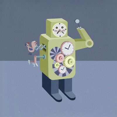 Sonia Klajnberg, 'ROBOT WATCHMAKER', 2013
