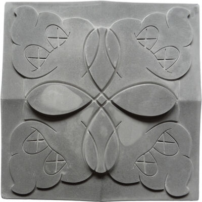 KAWS, 'OriginalFake Store Tile (Grey)', 2006