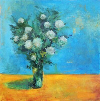 Carmelo Blandino, 'White Flowers on Table', 2014