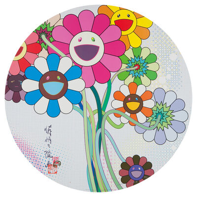 Takashi Murakami, 'Even The Digital Realm Has Flowers To Offer', 2009