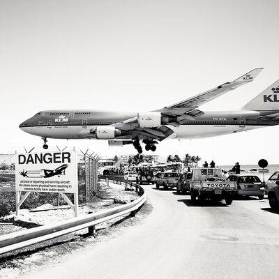 Josef Hoflehner, 'Jet Airliner #29, St. Maarten, KLM Dutch Boeing 747-400', 2011