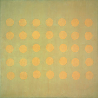 Agnes Martin, 'Buds', ca. 1959