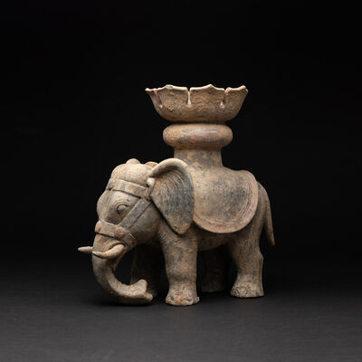 Han Dynasty, 'Han Terracotta Elephant', Han Dynasty-c. 200 BC to 200 AD