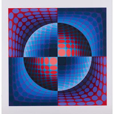 Victor Vasarely, 'Relat, from the portfolio Vi-Va', 1978