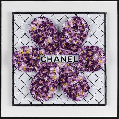 Stephen Wilson, ' Chanel Flower, Purple', 1095