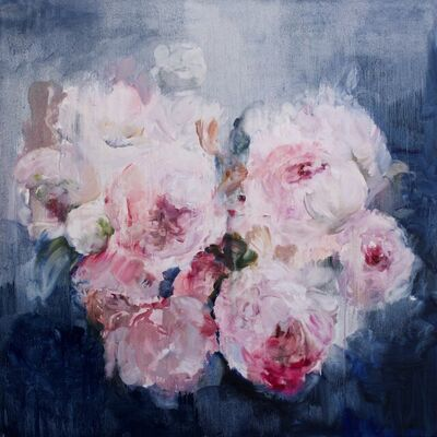 Darlene Cole, 'Love Notes (peonies at night)', 2021