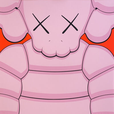 KAWS, 'What Party (Light Pink)', 2020