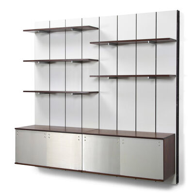 Preben Fabricius and Jørgen Kastholm, 'Wall mounted shelving system', 1960's
