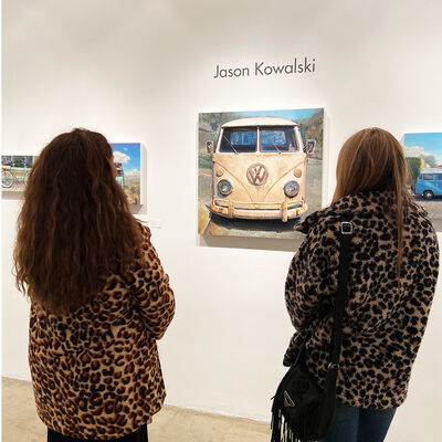 Vintage Road Trip Group Exhibition, installation view