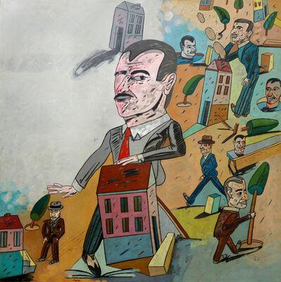 Antonio Seguí, 'Incompetencia ciudadana', 1985