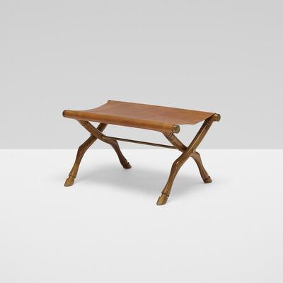 T.H. Robsjohn-Gibbings, 'Diphros Okladius stool, model no. 9', 1961
