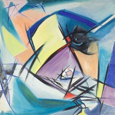 Angelo Savelli, 'Arcobaleno in fondo alla collina'