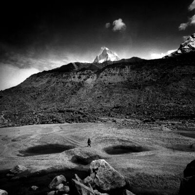 Giorgia Fiorio, 'Pilgrim towards the source of river Ganges, India', 2001