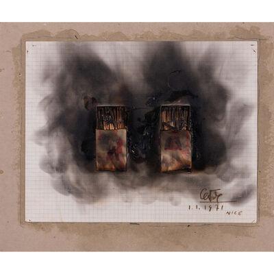 César, 'Combustion d'allumettes'
