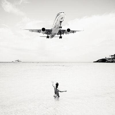 Josef Hoflehner, 'Jet Airliner #57, St. Maarten', 2011