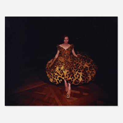 Nan Goldin, 'Tilda Swinton Modeling at Musee de la Chasse et de Nature, Paris', 2008
