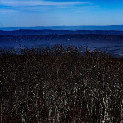 Brian Freer, 'Mountain Waves, Shenandoah National Park', 2021