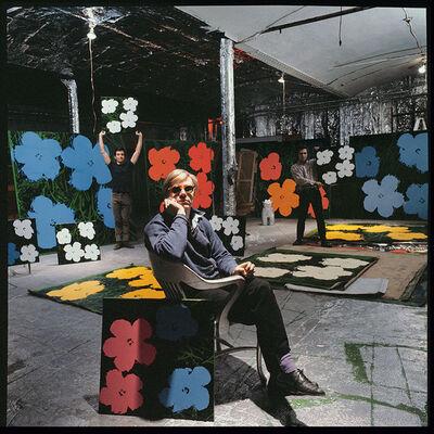 Ugo Mulas, 'Andy Warhol, Gerard Malanga, Philip Fagan,New York', 1964