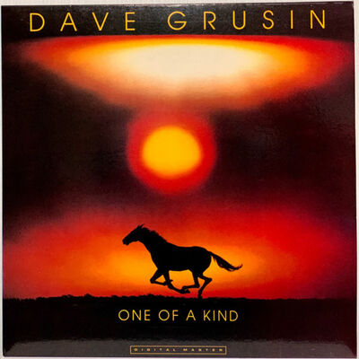 Mitchell Funk, 'Running Horse at Sunset - Dave Grusin Album Cover ', 1977