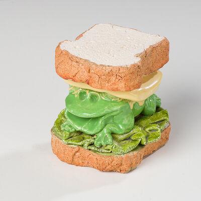 David Gilhooly, 'Frog Sandwich', 1981