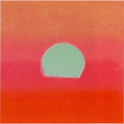 Andy Warhol, 'Sunset II.86', 1972