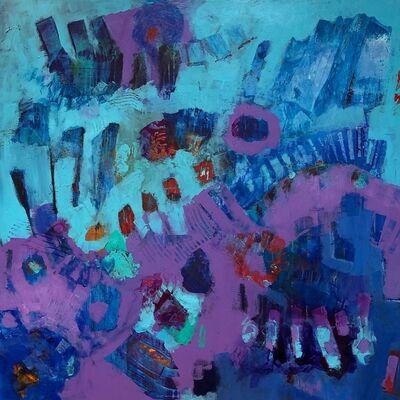Sandi Neiman Lovitz, 'Interrupting Purple', 2020