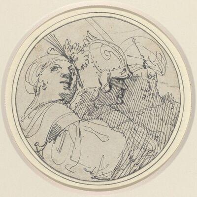 John Hamilton Mortimer, 'Three Oriental Heads', 1770/1775
