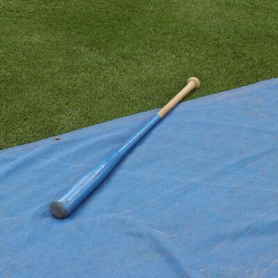 Kate Joyce, 'Batting Practice (Bat and Tarp), Durham, NC', 2013