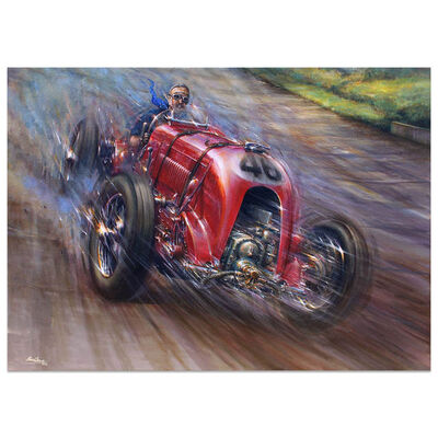 Paul Dove, 'Full Throttle | Brooklands Bentley Birkin Blower | Automotive | Car', 2018
