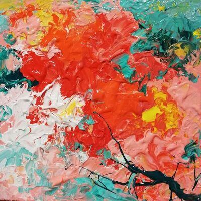 Marta Duran, 'Tapis de fleurs VI', 2019
