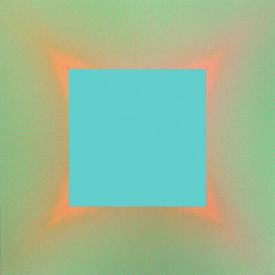 Richard Anuszkiewicz, 'Viridian Light #863', 1979
