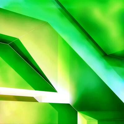 Richard Strachan, 'Untitled Green'